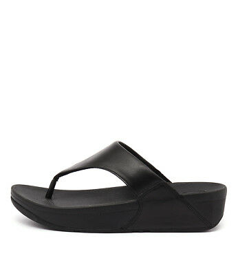 New Fitflop Lulu Black Womens Shoes Casual Sandals Heeled