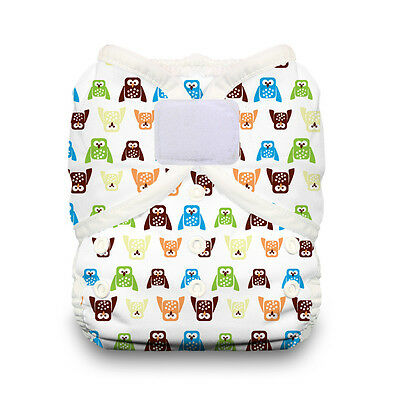 Thirsties Duo Wrap Aplix Cloth Diaper Cover in HOOT