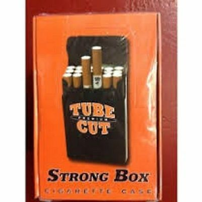 3 Gambler Tube Cut King Size Cigarette Strong Box Cigarette Case Cigarette cases