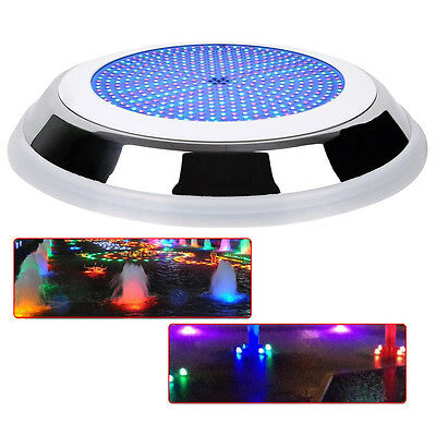 USA 18w Stainess 100% Resin filled led swimming pool lights RGB multi-color 12v