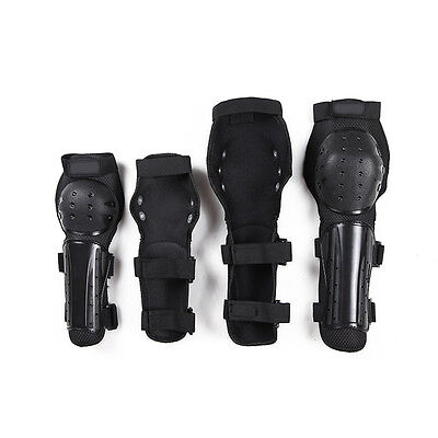 4pcs Motorcycle Bicycle Racing Knee Pads Protective Guards Armor Elbow Gear