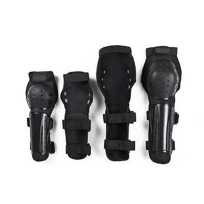 Hot!Armor&Elbow Gear 4pcs Motorcycle Bicycle Racing Knee Pads Protective Guards