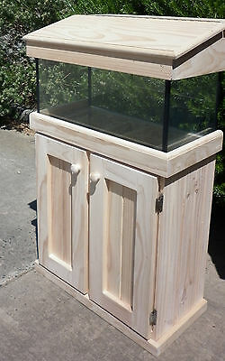 "2'x14""x18"" and 2'x14""x24"" Glass  Aquarium Fish Tank Cabinet Hood"
