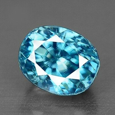 1.40 Cts Top Deep Quality Blue Color Natural Best Blue Zircon
