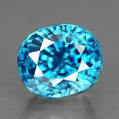 1.41 Cts Top Deep Quality Blue Color Natural Best Blue Zircon