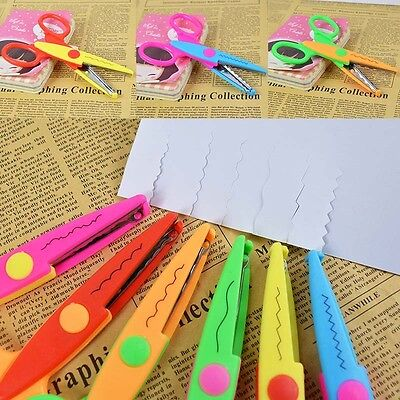 Decorative Paper Scrapbook Wave Wavy Border Craft Scissors Fancy Pinking Shears