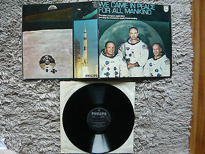 We Came In Peace For All Mankind The Apollo Story Orig 1969 Space Vinyl Album
