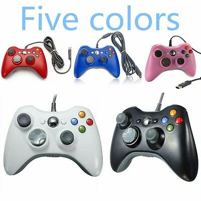 Wired USB Gamepad Joystick Joypad Controller for Microsoft Xbox 360 Console & PC