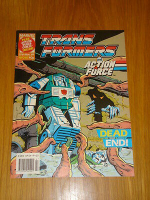 Transformers British Weekly #245 Marvel Uk Comic 1989