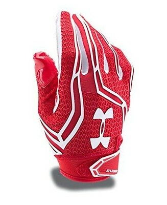 Under Armour Men's Swarm II Football Gloves, Red (600), Large