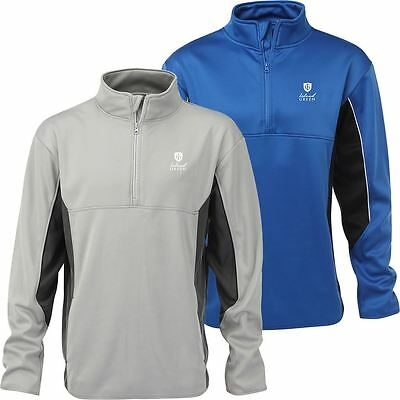 40%off Rrp Island Green Fleece Pullover Mens Golf Thermal Windproof Sweater