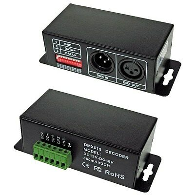 LED Supplies DMX Controller Constant Current 3 channels x 350mA