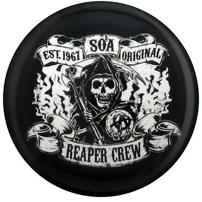 Sons of Anarchy Anstecker Reaper Crew SoA schwarz