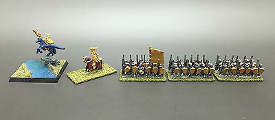Games Workshop Warhammer Warmaster Bretonnian Hero On Pegasus Spearmen General