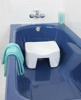 Bath Shower Bathroom Seat Stool Bathing Disability Aid Travel Portable New UK