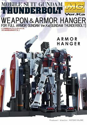 BANDAI MG 1/100 Weapon & Armor Hanger FOR Full Armor Gundam Ver. Ka THUNDERBOLT