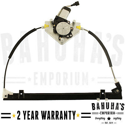 Renault Clio Mk2 Front Right Driver Window Regulator With 2 Pin Motor 1998>On