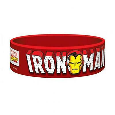 Marvel Comics Silicone Wristband Iron Man Official Merchandise
