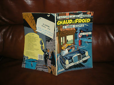 Gil Jourdan N°11 Chaud Et Froid - Edition Brochee 1983 - Tillieux