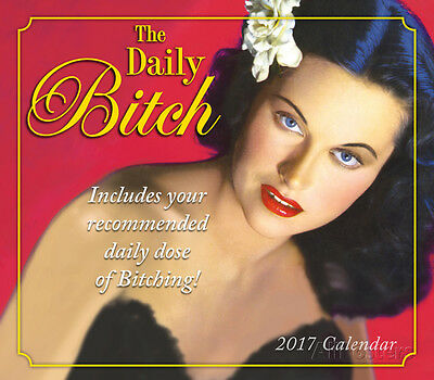 The Daily Bitch - 2017 Boxed Calendar - 16x13 - Humor