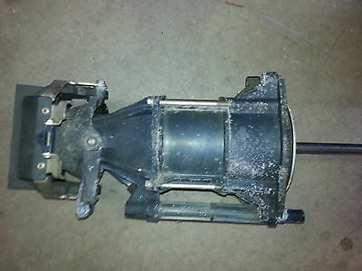 Complete jet pump and drive shaft assembly for 700 twin Polaris watercraft, 1997