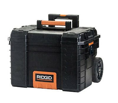 New Heavy Duty 22in. Pro Gear Portable Toolbox Cabinet All Terrain Storage Chest