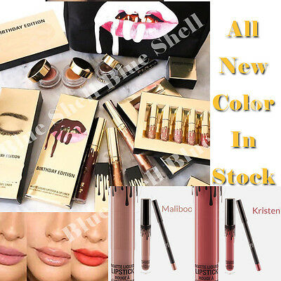 Long Lasting Waterproof Lipsticks Matte Liquid Lip Gloss Lip Liner Cosmetics New
