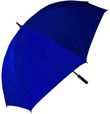 RainStoppers 68-Inch Oversize Windproof Golf Umbrella (Solid Royal)