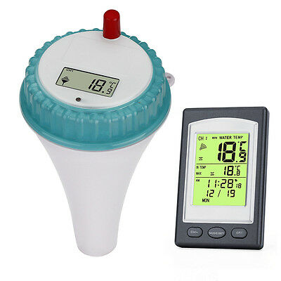 Digital Floating Swimming Pool Thermometer Temperature Remote Sensor