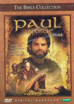 THE BIBLE COLLECTION PAUL THE APOSTLE  DVD New&Sealed (region free)