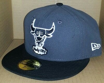fee26a617b4 NWT NEW ERA Chicago BULLS Windy City IL 59FIFTY size 7 1 4 fitted ...