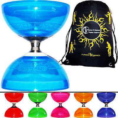QUARTZ 2 Triple Bearing  Diabolo + Bag *Diablo Handsticks Not Incl -Pro Diabolos