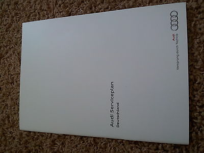 Audi Checkbook Service manual A1,RS3,A7,A5,TT,Q5,Q7,A4 maintenance booklet
