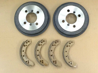 Triumph Herald And Spitfire Rear Brake Drums And Shoes Set New