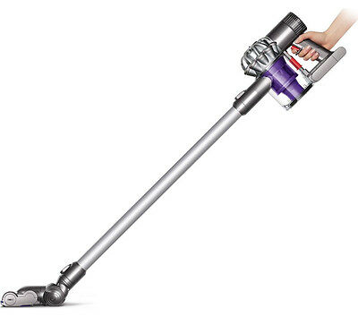 Dyson V6 Cordless Stick Vacuum Cleaner 21.6 V 20 Minutes Run Time Silver