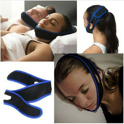 Stop Snoring Chin Strap Snore Belt Chic Anti Apnea Solution Sleep Support