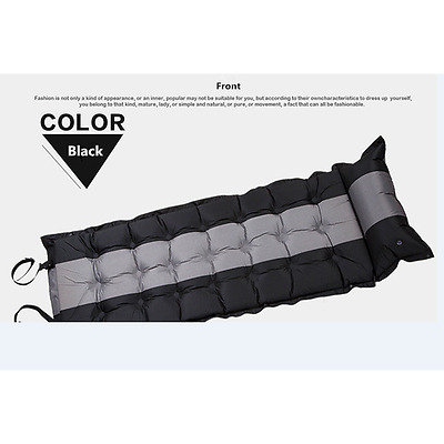 Auto Inflatable Inflating Air Mattress Sleeping Pad Outdoor Bed Camping Mat