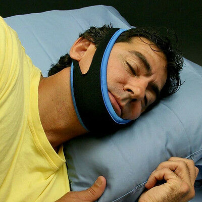Anti Snoring Chin Strap Belt Stop Snore Anti Apnea Jaw Support