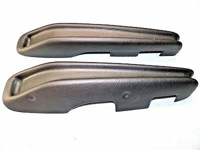 1963 64 Ford Galaxy Arm Rest Covers Black Pair #524