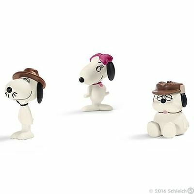 Schleich Collectable Figurines - Peanuts - Snoopy's Siblings - 6.5cm - 22058