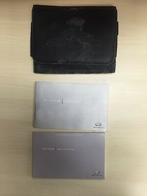 Infiniti Qx 2011 Owners Manual Books With Case Oem