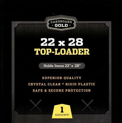 (1) CBG - 22X28 Poster Toploader Top Load Holder Photo Loader Sleeve Cover