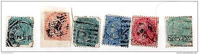 India QV Collection of 6 to 4 Annas Used X3348