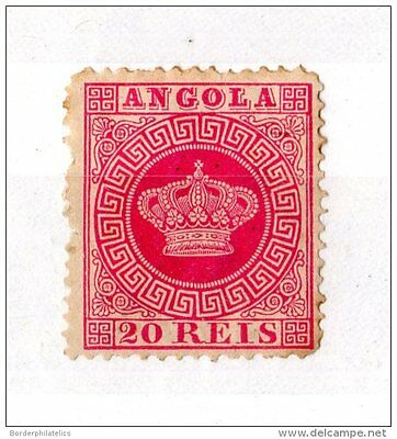 Angola 1870 20 Reis Red SG26 Mint MH X3330