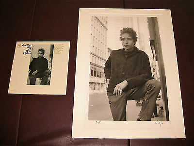 BOB DYLAN **Signed** print (1 of only 25) with COA...Cover for Dylan's 4th LP