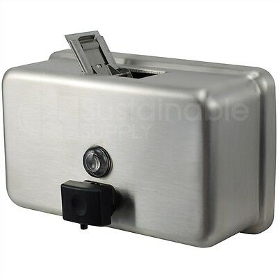 Bobrick B-2112 Stainless Steel Surface-Mounted Soap Dispenser