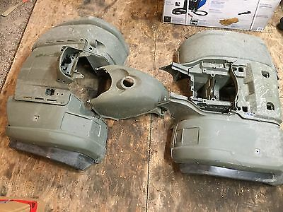 2002-2008 Yamaha Grizzly 660 Fenders Plastics Front & Rear *Camo Green* Flares