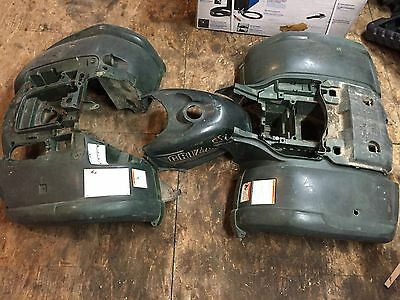 2002-2008 Yamaha Grizzly 660 Fenders Plastics Front & Rear *Green*
