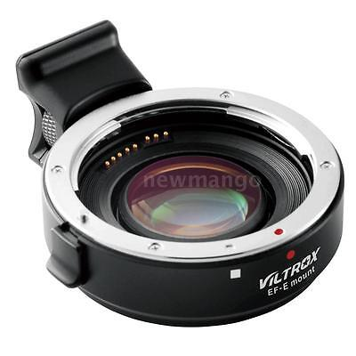 Viltrox EF-E Auto-focus AF Adapter Focal Reducer Booster Adapter for Canon U9K0