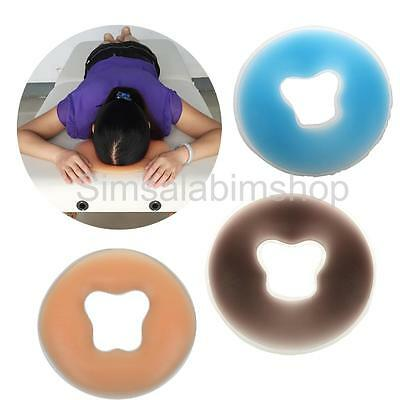 Salon SPA Massage Silicon Head Face Relax Cradle Cushion Pillow Pad Beauty Care